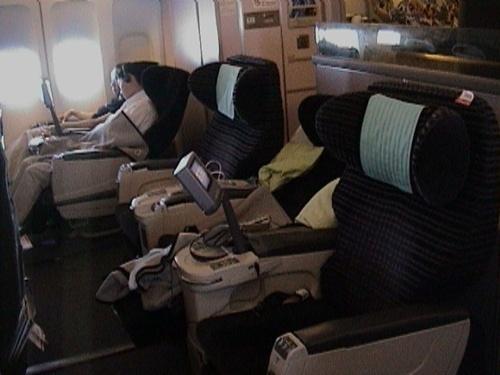 JL 73便 座席