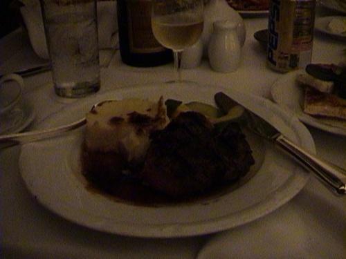 夜のルームサービス 肉