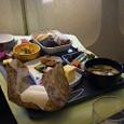 復路 JL73便 和食