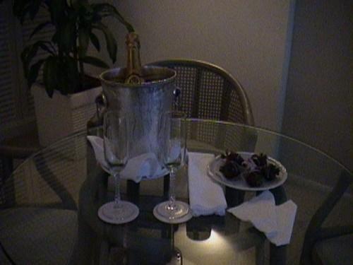 シャンペン&イチゴ