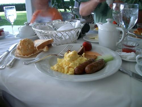 オーキッズの朝食