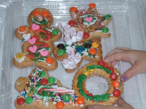 キッズプログラムで焼いたクッキー