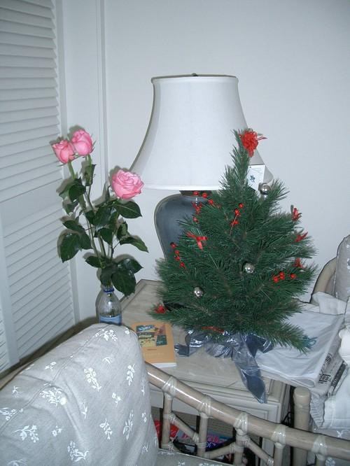 部屋のツリー