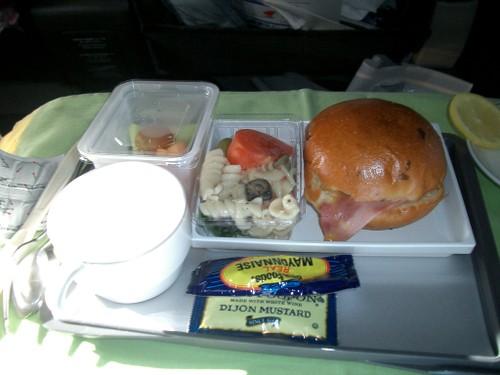 復路 機内食2食目