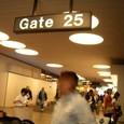 ホノルル空港 ゲート25