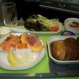 HNL→成田 洋食