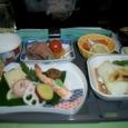 HNL→成田 和食