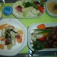 成田→HNL 洋食