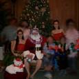 サンタさんと家族