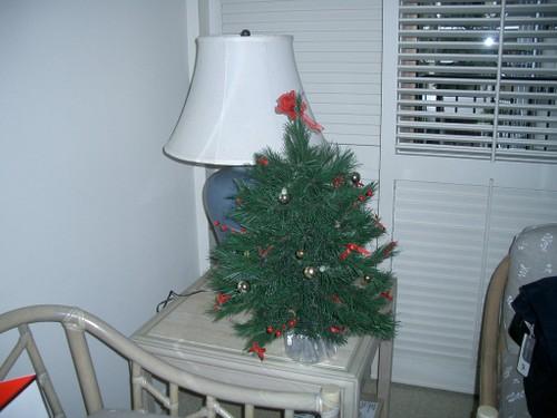 部屋のクリスマスツリー